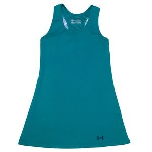 UNDER ARMOUR HeatGear Fitted Ribbed Mesh Back Tank